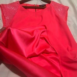 Express shirt sequin shoulders